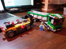 DECORATED TILE Lego Gold Mine 1x4 Dk Brown  NEW stk Genuine Lego