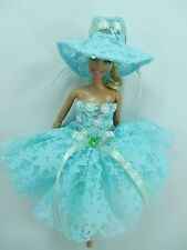 Barbie Doll Outfit Costume Dress & hat Fairytopia Ballerina Fairy Angel # FA-26
