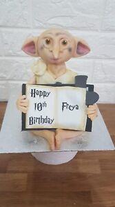 Dobby The House Elf Eddible Harry Potter Cake Topper Decoration