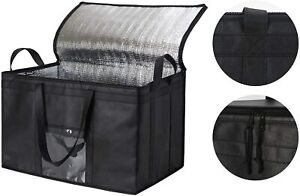 Food Delivery Bag Insulated Grocery Bag Premium XXXL 1 Pack