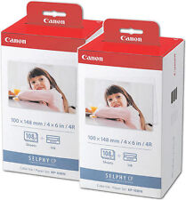 2x ORIGINAL PATRONEN CANON KP-108IN Selphy CP780 CP800 CP810 CP820 CP900 CP910