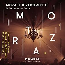 Jonathan Crow - MOZART DIVERTIMENTO and Preludes to Bach [CD]