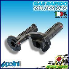 Polini 144765020 Commando Gas con Manopole XP 65 R - Nero