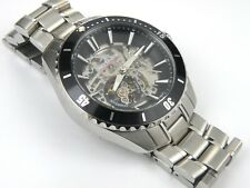 Rotary Men's Aquaspeed AGB90078/A/04 Swiss Automatic Skeleton Watch - 100m