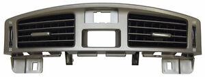 2011-2012 Toyota Avalon Center Dash HVAC Vents Silver New OEM 5540507020