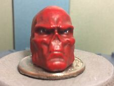 MARVEL SELECT PAINTED AND FITTED RED SKULL HEAD CAST 1:12 FOR 7IN ACTION FIGURE