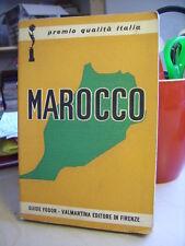 MAROCCO Storia - Vita - Folclore. Informazioni Turistiche.  Valmartina  1974
