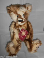 Charlie Bears TEDDY BUMP ~ a QVC Exclusive by Heather Lyell 2014 ~ Only 500 Made