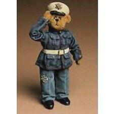 "Boyds Bears Crumpleton ""Marine Bearster"" 12.5"" Marine Bear- #73125 -Nib- Retired"