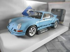 Porsche 911 Carrera 2.8 RSR Light Gulf Bleu Blue 1974 rar SP SOLIDO 1:18