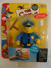 The Simpsons World of Springfield Figurine Série 2 Chef Wiggum 2000 Playmates
