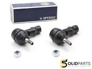 2x Original Optimal Tie Rod End Front Opel Corsa a B C Combo Tigra / Smart