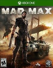 XBOX ONE MAD MAX BRAND NEW - FREE 1ST CLASS SHIPPING & TRACKING