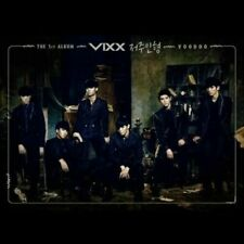 Vixx - [Voodoo] 1st Album CD+Booklet+Gift+Tracking K-POP Concept Idol Visual