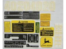 4020 JOHN DEERE TRACTOR COMPLETE DECAL KIT