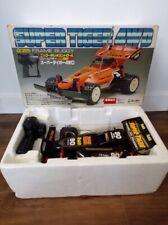 RARE! 80's Nikko Japan 1/16 Frame Buggy Super Tiger 4WD MIB Taiyo Tyco