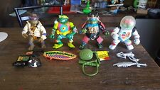 TMNT 1990 Disguised Lot Don, Raph, Leo, Mikey Teenage Mutant Ninja Turtles