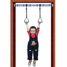 Pairs of Kids Gymnastics Sports Rings Exercise arm strength with Horizontal Bar