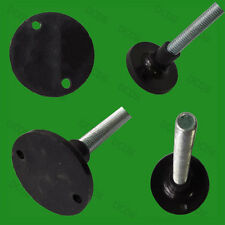 50x 42mm Diameter, M8 x 50mm Adjustable Surface Mountable Levelling Feet Foot