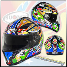 CASCO INTEGRALE STRADALE SUOMY HALO PINBALL TAGLIA XL  (61 - 62) CASQUE
