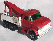 CLASSIC DIECAST MATCHBOX LESNEY MB71C NO.71 ESSO FORD HEAVY WRECK TRUCK 1968