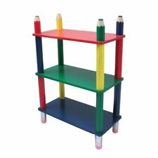 Kids' Furniture Children's Shelf Bookcase Room IN Pencil Design With 3 Soils