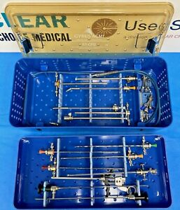 ACMI M3 30A & 70A GOLD Resection Tray w/ Extras & Case Urology
