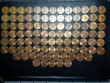 Rare collection in UK 1 cent American - Lincoln coins. From 1964 to 2016 years.