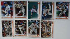2019 Topps Update New York Mets Base Team Set of 9 Baseball Cards