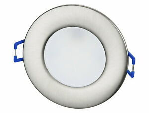 LED Slim Recessed Light IP44 68mm Bath Damp Areas Transformer Built-In