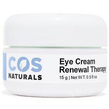 COS Naturals Eye Cream Renewal Therapy Natural Organic Dark Circles Puffiness