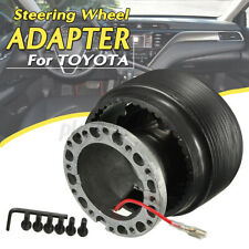 Universal Racing Steering Wheel Release Hub Adapter Boss Kit For Toyota