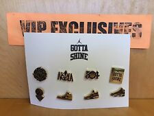 Gotta Shine Jordan Pin Set New Orleans NOLA NBA All-Star 2017 collectible pins