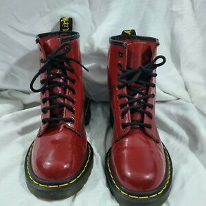 Doc Martens Red 1460 Boots Size 7 US