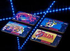 SNES SUPER NINTENDO cartouche zelda mario kart metroid Drinks Coasters Gaming