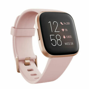 Fitbit  Versa 2 Smartwatch colors may vary FB507RGPK