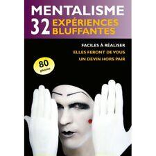 Mentalisme 32 Expériences Bluffantes - Le Livre