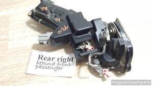 1993-1997 geo prism rear right passenger powered door latch lock oem