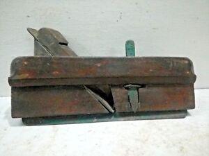 Antique Old Vintage Plough Plane Hand Rebate Plane Wood Tool