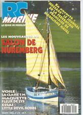 Rc marine no. 24 class 1 m/fleur de lys/little devil-robbe/nuremberg