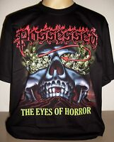 Possessed The Eyes Of Horror T-Shirt Size S M L XL 2XL 3XL Death Metal Band New!
