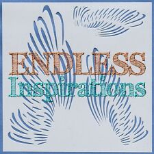 "6""x6"" Endless Inspirations Stencil, Left Wing, Right Wing- Free US Shipping"