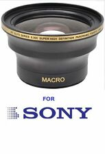 55MM HD .30X FISHEYE WIDE ANGLE + MACRO FOR SONY ALPHA A380 A330 A230 FAST SHIP