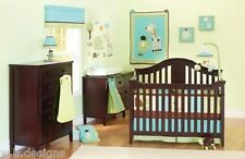 Summer Giggle Gang 14Pc Crib Bedding Set Include Crib Wrap/Lamp/Decals+++ *New*