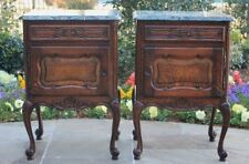 oak antique nightstands