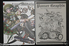 "JAPAN Raita Honjou (Valkyria Chronicles) Art Works I ""Militaria"" First Edition"