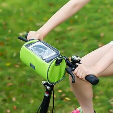 Mountain Bike Bicycle Touch Screen Front Handlebar Bag Phone Holder Crossbody US
