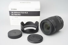 Sigma 18-200mm f/3.5-6.3 DC Macro Zoom C Lens Contemporary For Pentax K PK Mount