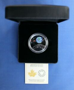 """2020 Canada Silver Proof $20 coin """"Mother Earth - Our Home"""" in Case with COA"""