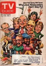 1981 TV Guide February 14 - WKRP - Richard Sanders; Dean Butler - House; Dynasty